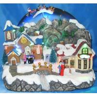 Buy cheap 1 0LED Village With Flying Reindeer Sleigh. from wholesalers