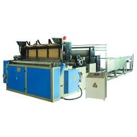 Quality Automatic toilet paper rewinding machine (with perforation and embossing) wholesale