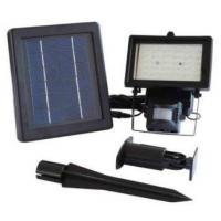 China Solar powered security flood lights with motion sensor on sale
