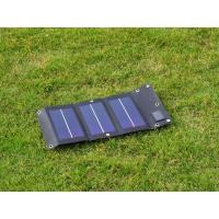 Quality 3W 5V folding and flexible solar panel chager wholesale