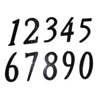 Quality 4-inch zinc alloy house number wholesale