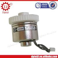 Micro electromagnetic gear clutch for office machine