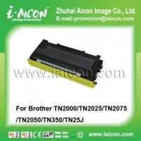 Buy cheap Suitable in Brother HL-2030 Toner Cartridges TN2000/TN2025/TN2075/TN2050/TN350/TN25J from wholesalers