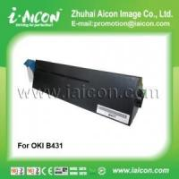 China Use in oki b431dn Compatible black toner cartridge for OKI B431 on sale