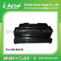 China Use in oki b410d Compatible black toner cartridge for OKI 43979102 on sale