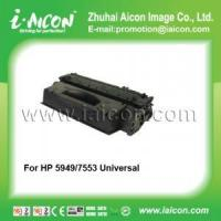 Compatible universal black toner for HP 5949A/7553A 5949X/7553X