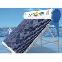 China Domestic Compact non pressure Vacuum Tube Solar Water Heater on sale
