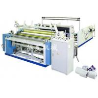Quality Full automatic toilet paper embossing rewinding perforating machine wholesale