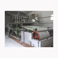 Buy cheap samall model toilet tissue paper machine from wholesalers