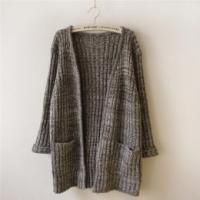 Quality New design women knitting cardign long sleeve sweater wholesale