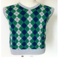 Buy cheap Men's argyle intarsia sleeveless sweater from wholesalers