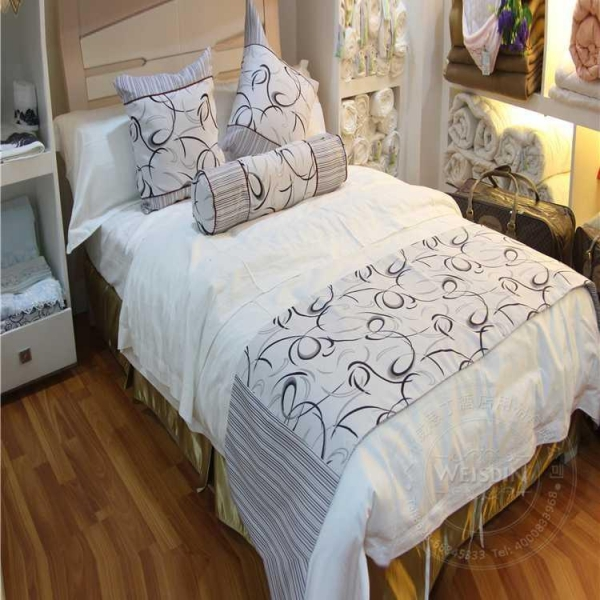 cheap hotel king size bed runner of weisdin. Black Bedroom Furniture Sets. Home Design Ideas