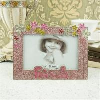 Buy cheap Metal photo frame/children gift photo frame from wholesalers