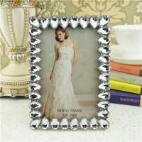 Quality Metal photo frame/shine acrylic photo frame wholesale
