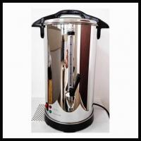 Quality Electric Stainless Steel Water Boiler Tea Boiler Water Urn 6-30 Liters One-piece Polished Shell wholesale