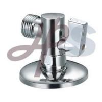 Cheap Plated chrome brass angle valves for sale