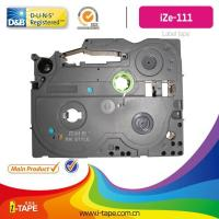 China TZe-111(Length:10M)black on clear tape for Brother P-touch label tape Printer on sale