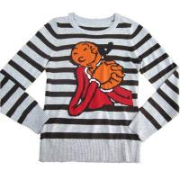 Buy cheap Striped sweater with jacquard for children Y158 from wholesalers