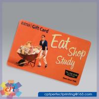 Quality Full color printing Plastic gift card wholesale
