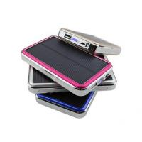 Quality 2015 Newly Portable Solar Charger 30000mAh with LED Camp Lights wholesale