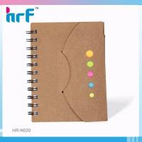 Quality Sprial Flash memory note book with Stick note wholesale