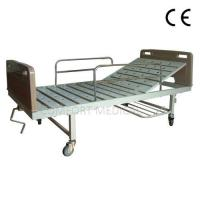 Buy cheap CF-ABS01 Manual 1-rocker bed with ABS bed head from wholesalers