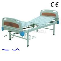 Buy cheap CF-ABS02A Manual 2-rocker nursing bed with ABS bed head from wholesalers