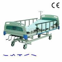 Buy cheap CF-ABS04 Manual 4-rocker nursing bed with ABS bed head from wholesalers