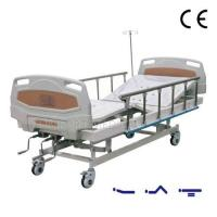 Buy cheap CF-ABS03 Manual 3-rocker nursing bed with ABS bed head from wholesalers