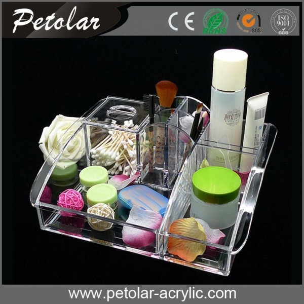 Cheap custom acrylic wholesale cosmetic containers of for Decor 718 container