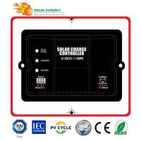 China 7A/12V Digital Solar Charge Controller on sale