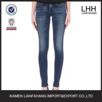 Quality Europe style plain skinny jeans for women wholesale