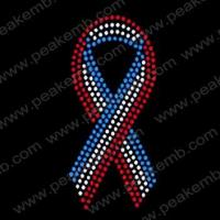 Iron On Ribbon Hotfix Transfer For American Independent Day 30Pcs/Lot