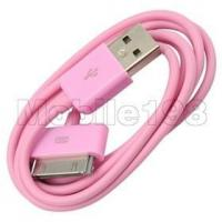 Buy cheap USB Data Cable for Apple ipad,ipod,iphone Pink product