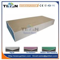China 12mm Paper Faced Wall Partition Drywall Gypsum Board Price in India on sale
