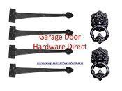 """Quality 18"""" Iron Series Strap Hinge Assembly & Lion Head Kit wholesale"""