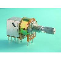 China SP-RA16K1 Rotary Potentiometer with Push-Pull Switch on sale