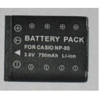 Quality Battery Casio NP-80 wholesale