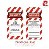 Quality ZC-T04 Lockout Tag (Pack 10) - Caution, Lock Out For Safety wholesale