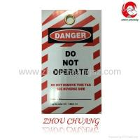 Quality ZC-T03 Safety Lockout Tagout, Safety Tag, Lockout Tag Factory wholesale