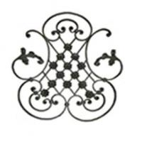 Quality Wrought Iron Rosette 11065 wholesale