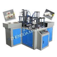China Full-automatic Paper Lunch Box Forming Machine on sale