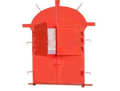 Cheap Fire-proof fence door for sale