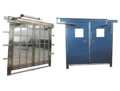Cheap Pneumatic no pressure ventilation door for sale