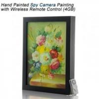 Quality Free shipping Hand Painted Spy Camera Wireless Remote Control wholesale