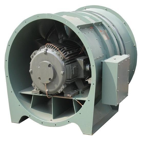 Axial Fans For Tunnels : Cheap axial fan tunnel ventilation with cast aluminium
