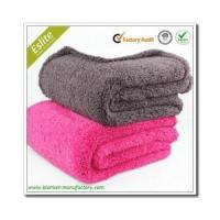 China Micro Plush/Sherpa Blanket Wholesale Soft Fleece Life Comfort Sherpa Throw Sherpa Blanket on sale