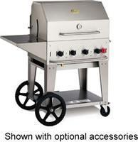China Crown Verity Outdoor Charbroiler, LP gas, 28x21 grill area, 4 burners, s/s grill - MCB-30 PKG-LP on sale