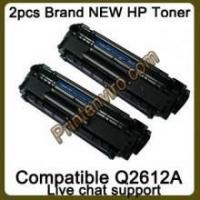 China 2 Packs New Compatiable HP Q2612A 12A Toner Cartridges on sale