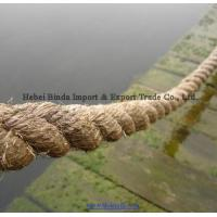 Quality Marine Rope, Boat Rope, Jute Rope, Natural Fiber Rope, 3 Strands Twisted Rope wholesale